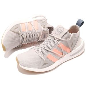 NWT Adidas Arkyn Grey Pink Knit Shoes 7